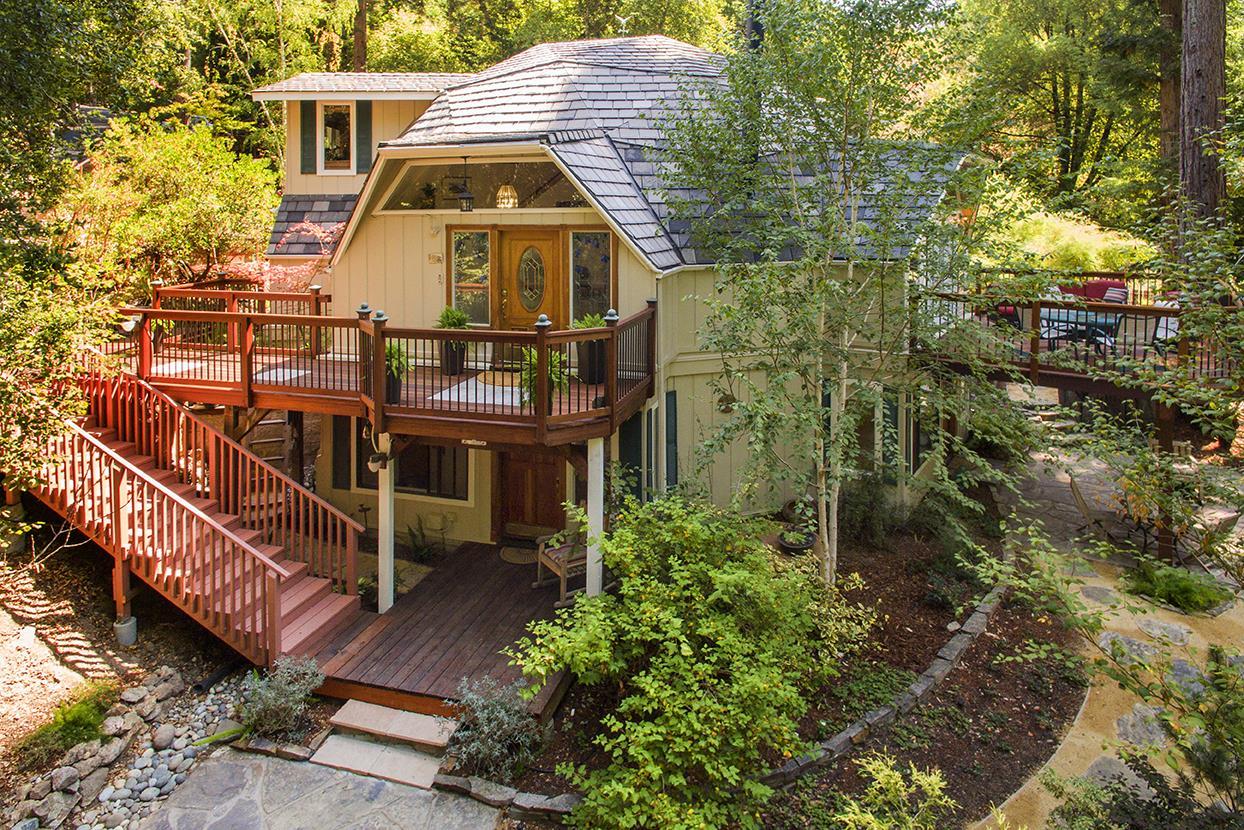 Einfamilienhaus für Verkauf beim 3300 Glen Canyon Road Scotts Valley, Kalifornien 95066 Vereinigte Staaten