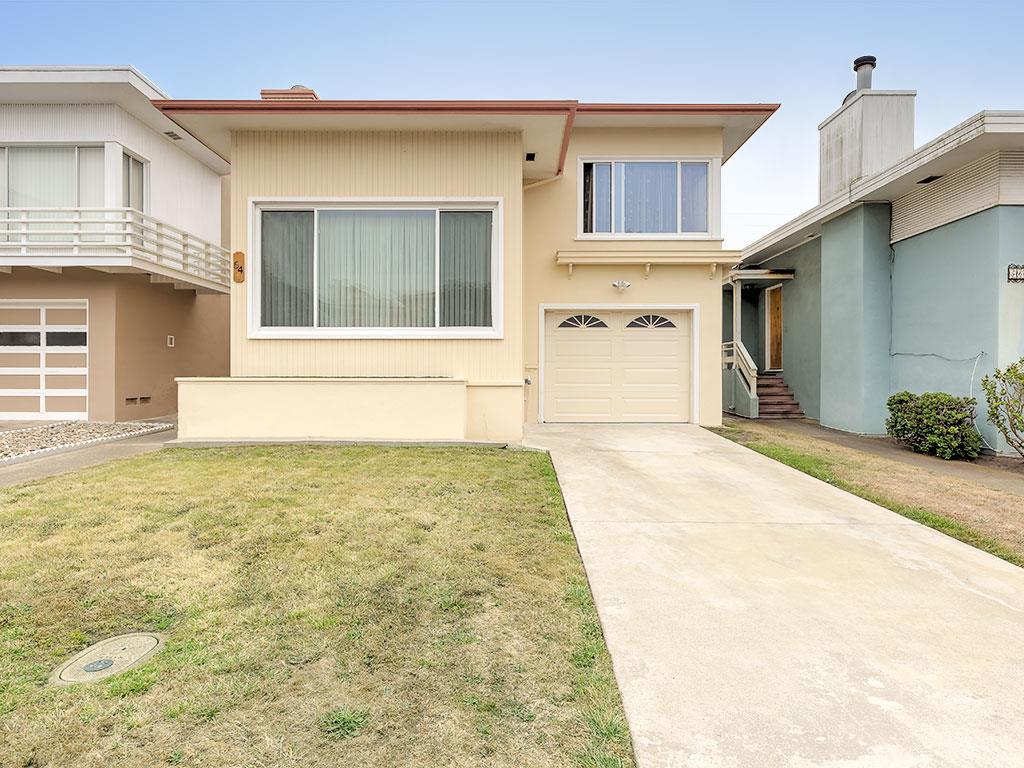 獨棟家庭住宅 為 出售 在 64 Lakemont Drive Daly City, 加利福尼亞州 94015 美國