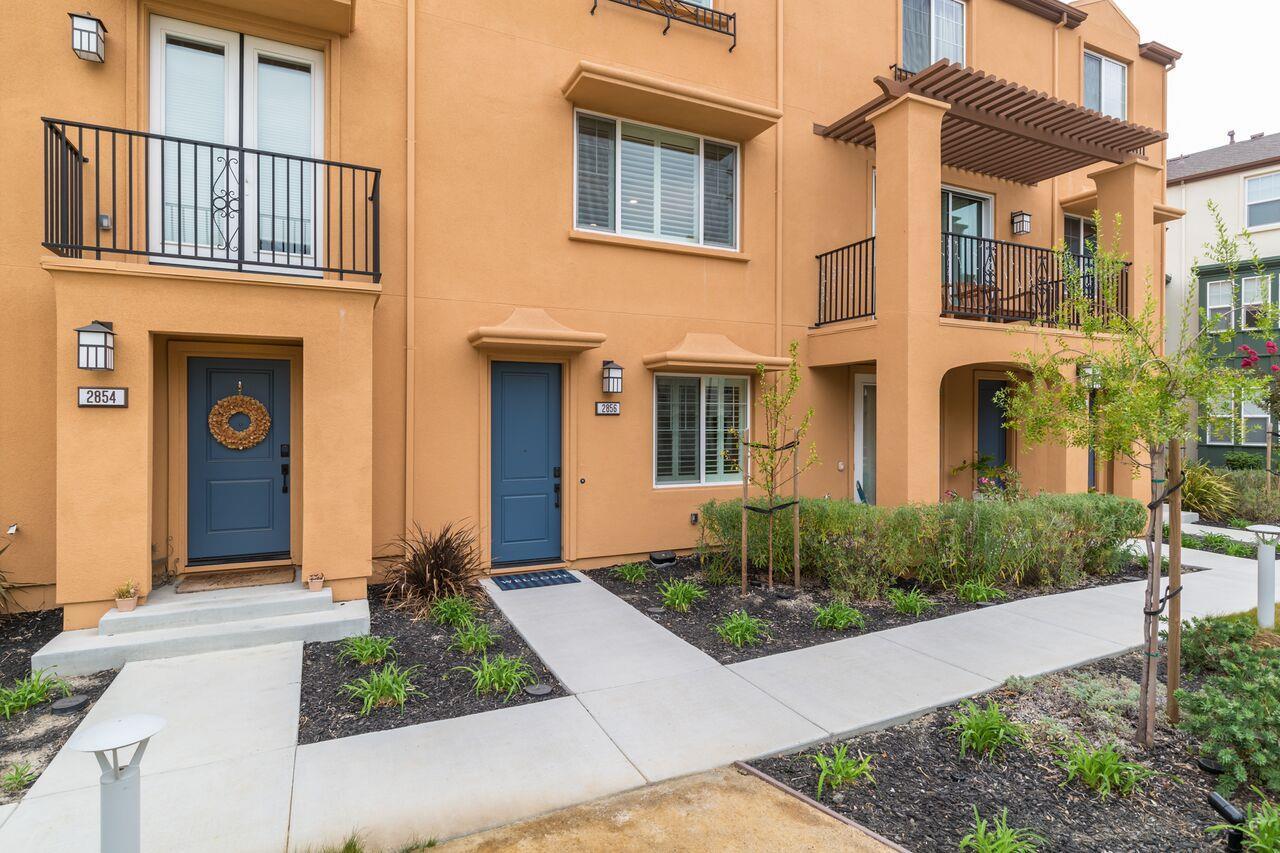 Stadthaus für Verkauf beim 2856 Catalino Street San Mateo, Kalifornien 94403 Vereinigte Staaten