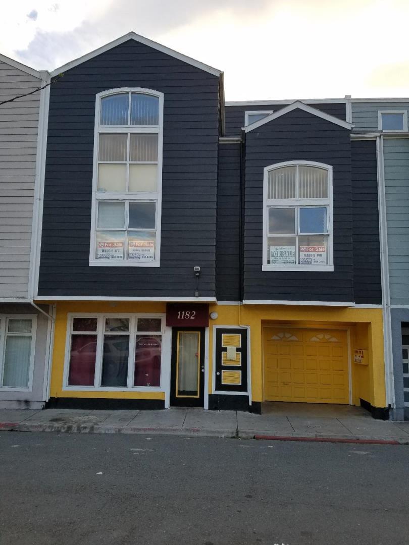 多戶家庭房屋 為 出售 在 1180 Hillside Boulevard Daly City, 加利福尼亞州 94014 美國