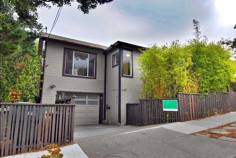 Maison unifamiliale pour l Vente à 445 San Bruno Avenue 445 San Bruno Avenue Brisbane, Californie 94005 États-Unis