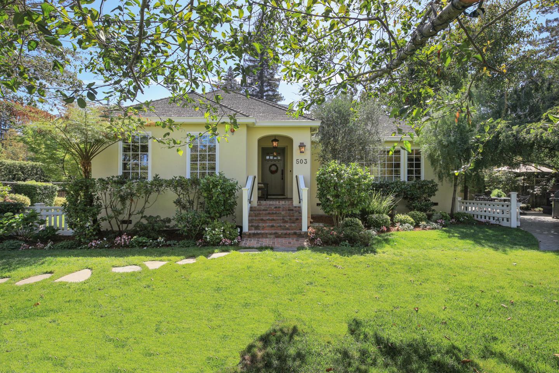 Maison unifamiliale pour l Vente à 503 Barroilhet Avenue 503 Barroilhet Avenue San Mateo, Californie 94402 États-Unis