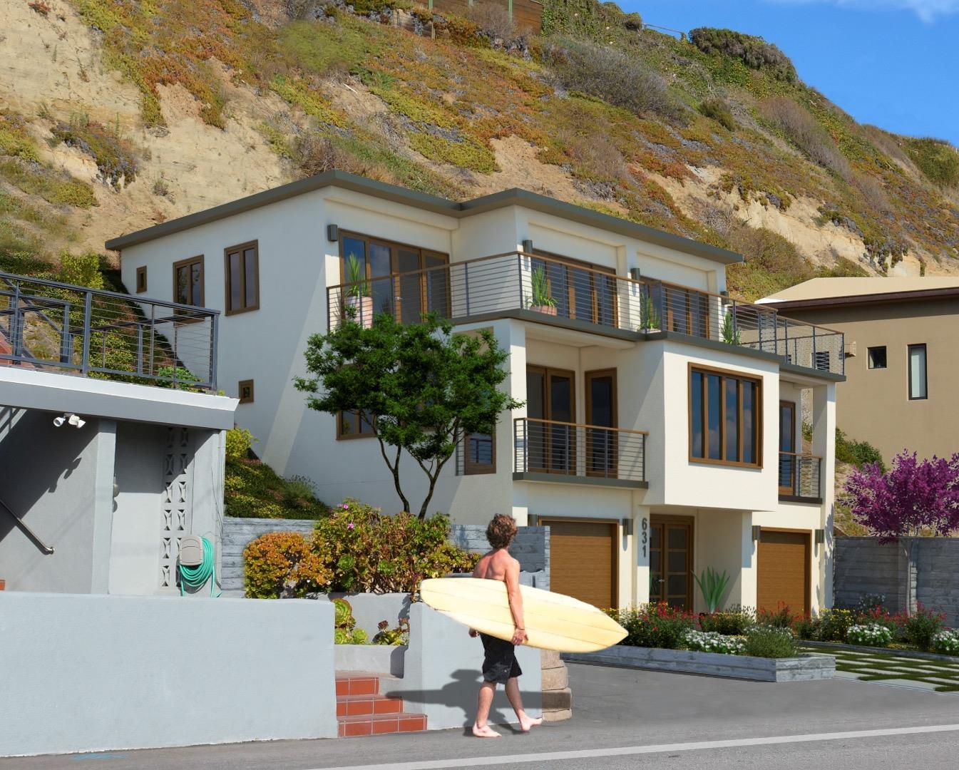 Single Family Home for Sale at 631 Beach Drive 631 Beach Drive Aptos, California 95003 United States