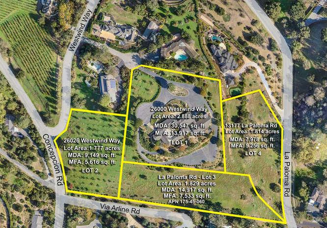 Single Family Home for Sale at 26000 Westwind Way 26000 Westwind Way Los Altos Hills, California 94022 United States