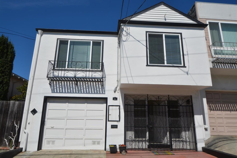 Maison unifamiliale pour l Vente à 61 Garibaldi Street 61 Garibaldi Street Daly City, Californie 94014 États-Unis