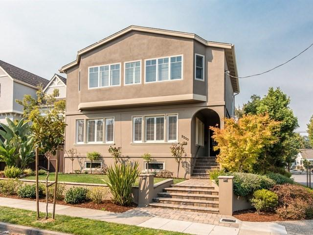 Single Family Home for Sale at 2300 Poppy Drive 2300 Poppy Drive Burlingame, California 94010 United States