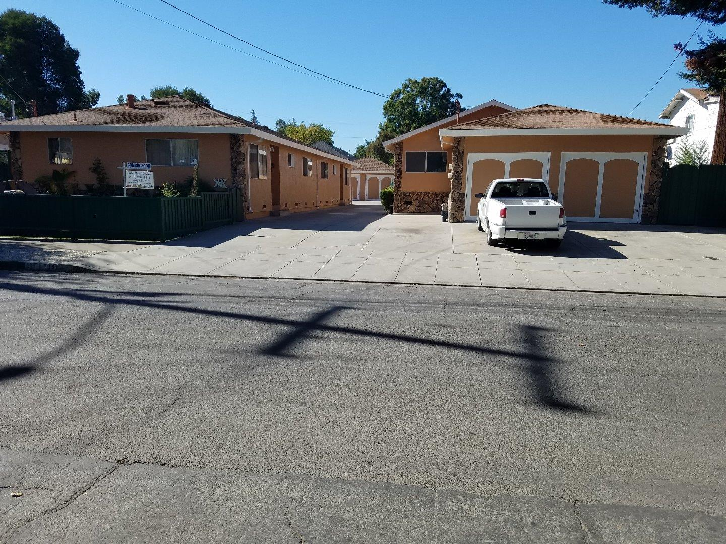 Multi-Family Home for Sale at 207 S 20th Street 207 S 20th Street San Jose, California 95116 United States