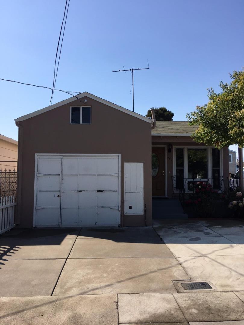 Casa Unifamiliar por un Venta en 741 4th Avenue 741 4th Avenue San Bruno, California 94066 Estados Unidos