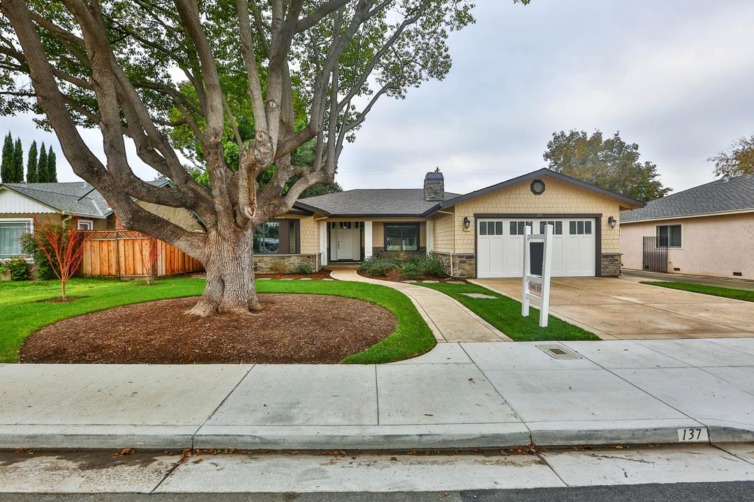 Single Family Home for Sale at 137 Cypress Avenue 137 Cypress Avenue Santa Clara, California 95050 United States