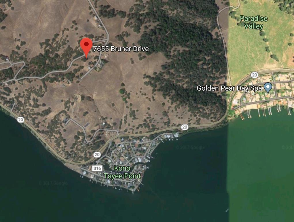 土地 為 出售 在 7655 Bruner Drive 7655 Bruner Drive Glenhaven, 加利福尼亞州 95443 美國