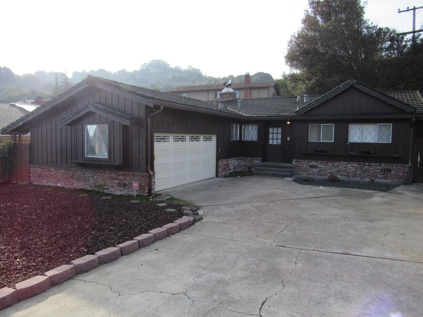 Single Family Home for Rent at 4716 Upland Drive 4716 Upland Drive Richmond, California 94803 United States