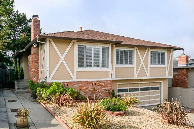 Single Family Home for Sale at 321 Courtland Drive 321 Courtland Drive San Bruno, California 94066 United States
