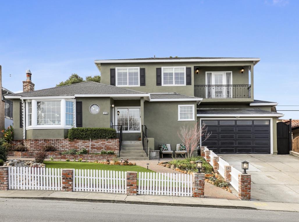 Частный односемейный дом для того Продажа на 1278 Hillcrest Boulevard 1278 Hillcrest Boulevard Millbrae, Калифорния 94030 Соединенные Штаты