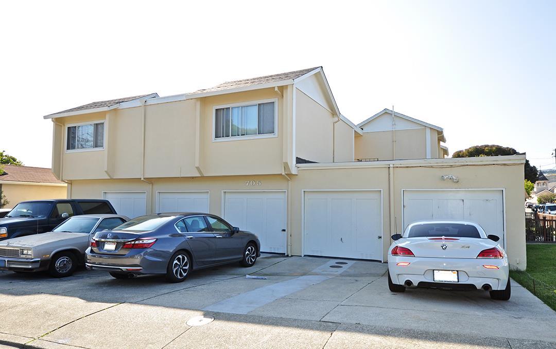 Casa Multifamiliar por un Venta en 703 Hemlock Avenue 703 Hemlock Avenue Millbrae, California 94030 Estados Unidos