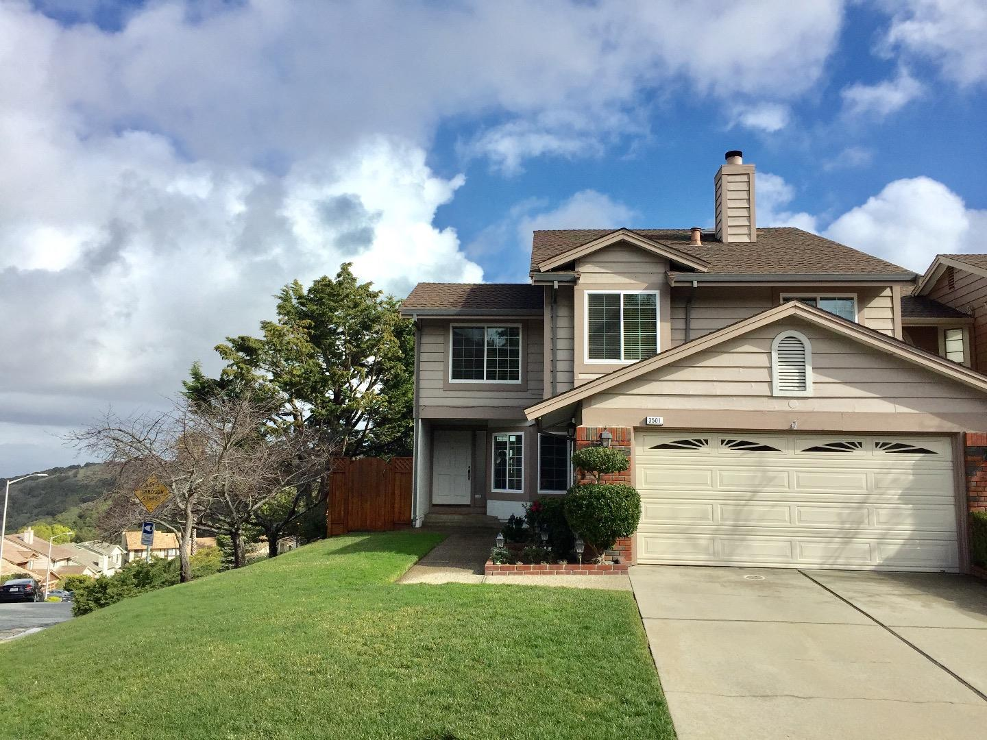 Single Family Home for Rent at 3501 Broadview Court 3501 Broadview Court San Mateo, California 94403 United States