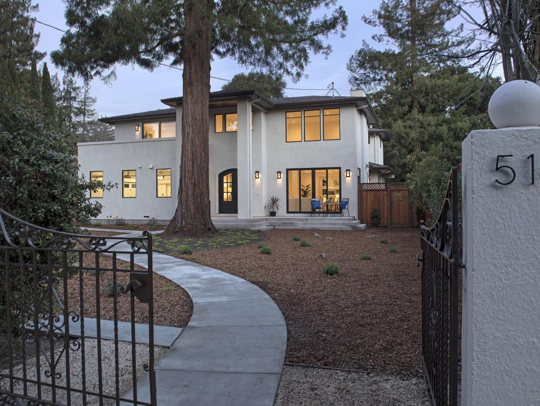 واحد منزل الأسرة للـ Sale في 514 Palmer Lane 514 Palmer Lane Menlo Park, California 94025 United States