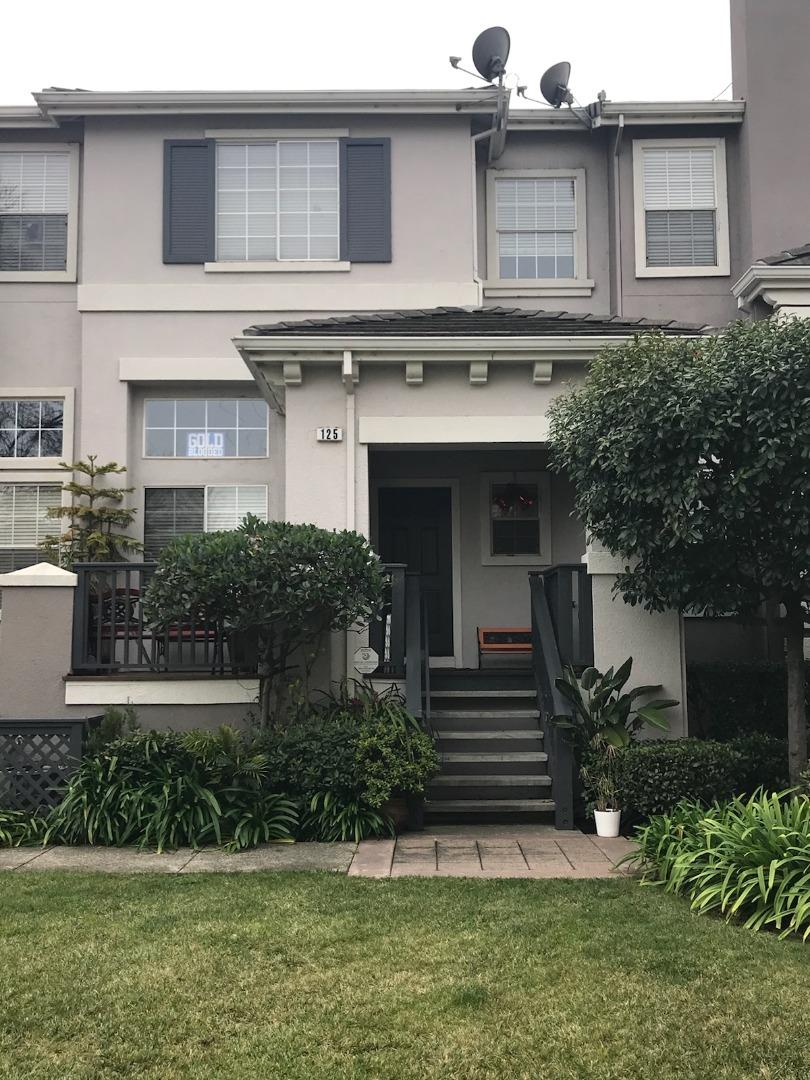 Maison accolée pour l Vente à 125 Sydney Lane 125 Sydney Lane Redwood City, Californie 94063 États-Unis