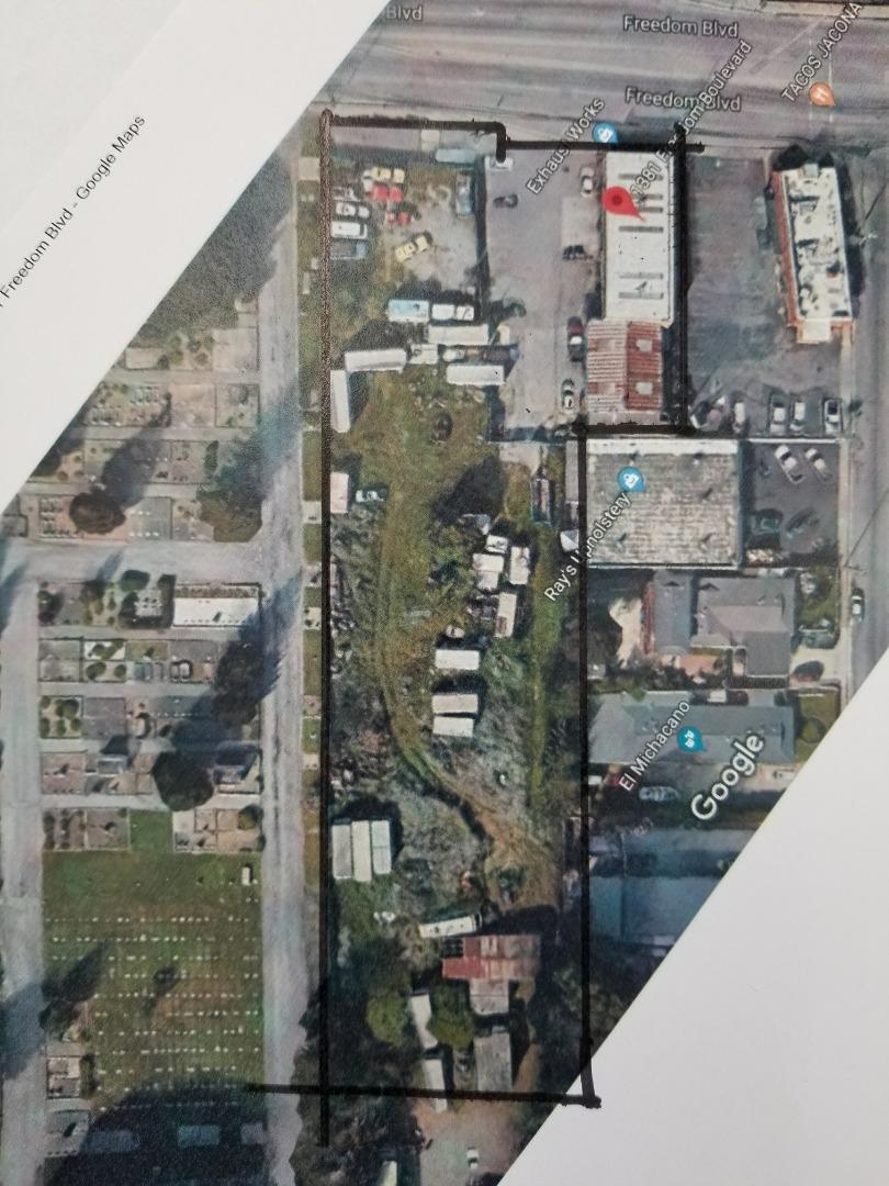Земля для того Продажа на 1381 Freedom Boulevard 1381 Freedom Boulevard Watsonville, Калифорния 95076 Соединенные Штаты