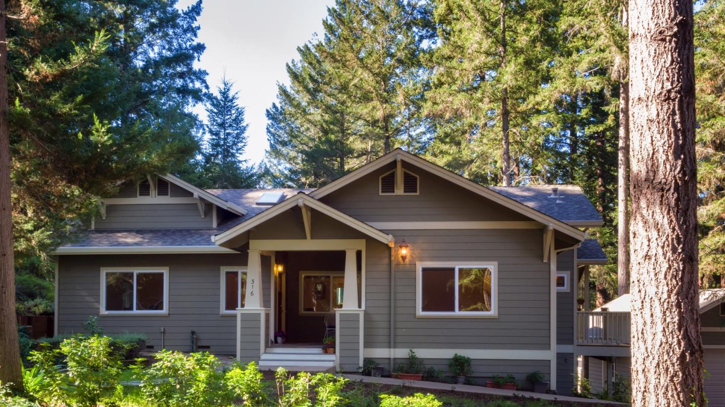 Single Family Home for Sale at 316 Balch Way 316 Balch Way Ben Lomond, California 95005 United States