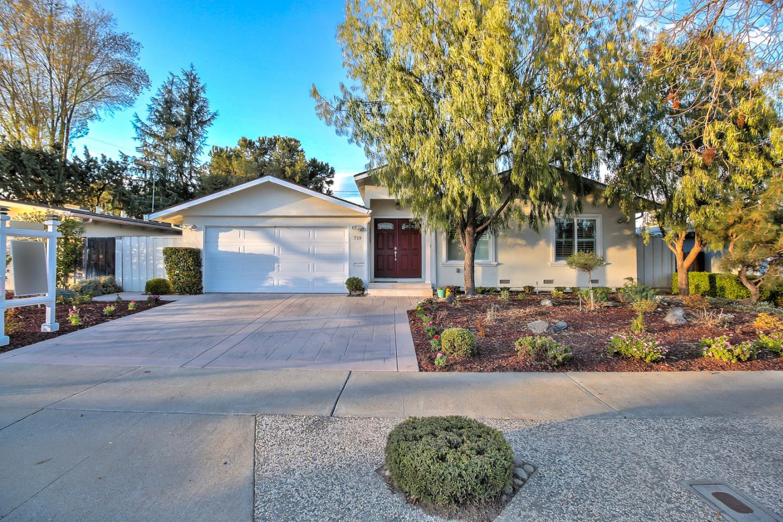 Single Family Home for Sale at 729 Carlisle Way 729 Carlisle Way Sunnyvale, California 94087 United States