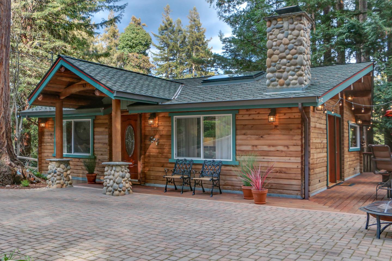 Casa Unifamiliar por un Venta en 640 Mountain View Drive 640 Mountain View Drive Ben Lomond, California 95005 Estados Unidos