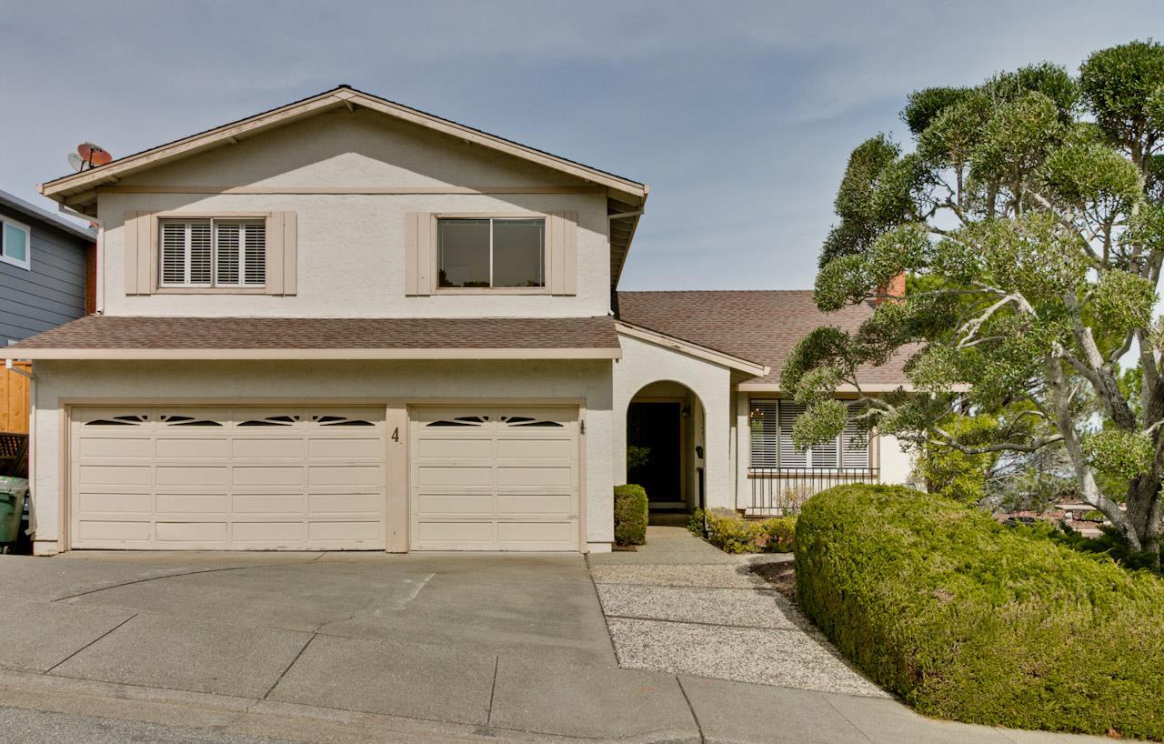 獨棟家庭住宅 為 出售 在 4 Elder Drive 4 Elder Drive Belmont, 加利福尼亞州 94002 美國