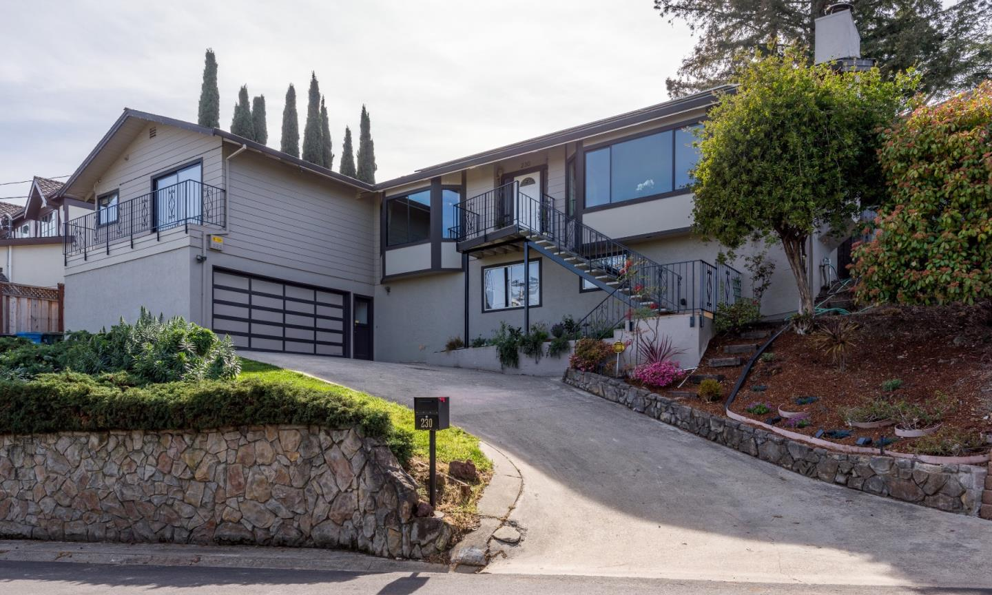 Single Family Home for Sale at 230 Hillcrest Road 230 Hillcrest Road San Carlos, California 94070 United States