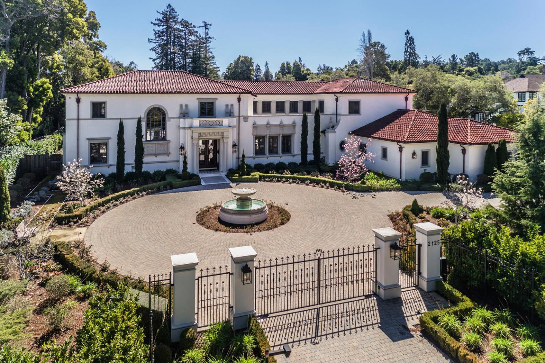 Single Family Home for Sale at 2125 Ralston Avenue 2125 Ralston Avenue Hillsborough, California 94010 United States