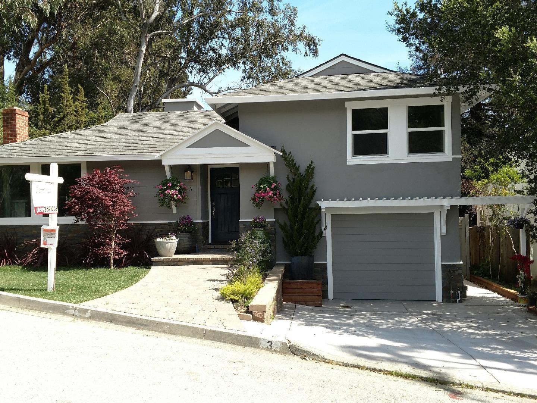 獨棟家庭住宅 為 出售 在 3 Charlton Street 3 Charlton Street San Carlos, 加利福尼亞州 94070 美國