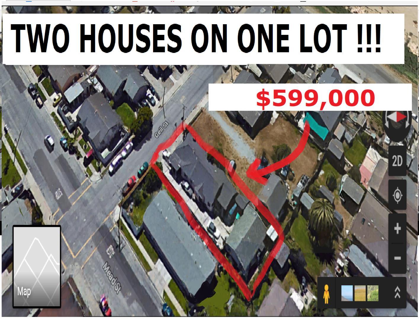 Частный односемейный дом для того Продажа на 10299 Geil Street 10299 Geil Street Castroville, Калифорния 95012 Соединенные Штаты