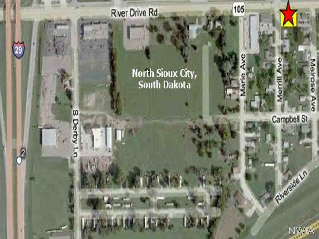Property for sale at TBD River Drive And Merrill Avenue, No. Sioux City,  SD 57049