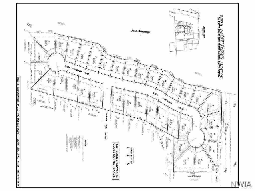 Property for sale at lot 5 Canterbury, No. Sioux City,  SD 57049
