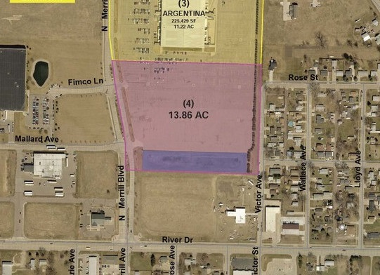 Property for sale at Lot 4 N Merrill Ave, No. Sioux City,  SD 57049