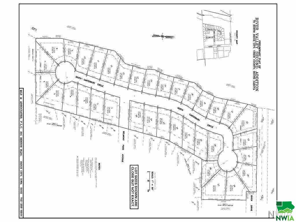 Property for sale at lot 18 Canterbury, No. Sioux City,  SD 57049