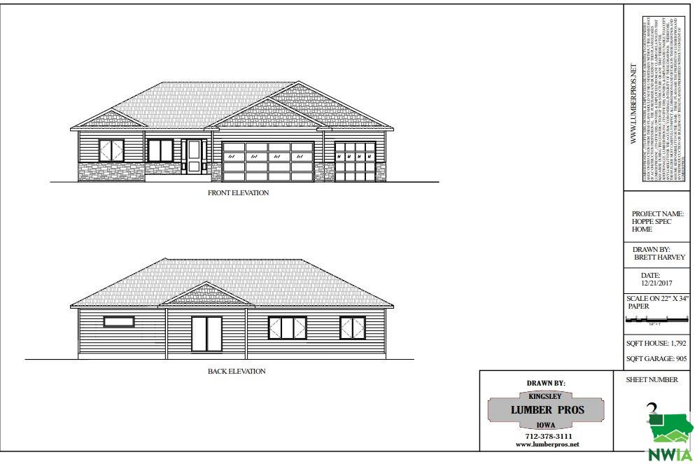 Property for sale at 502 Kingston Circle, Sergeant Bluff,  IA 51054