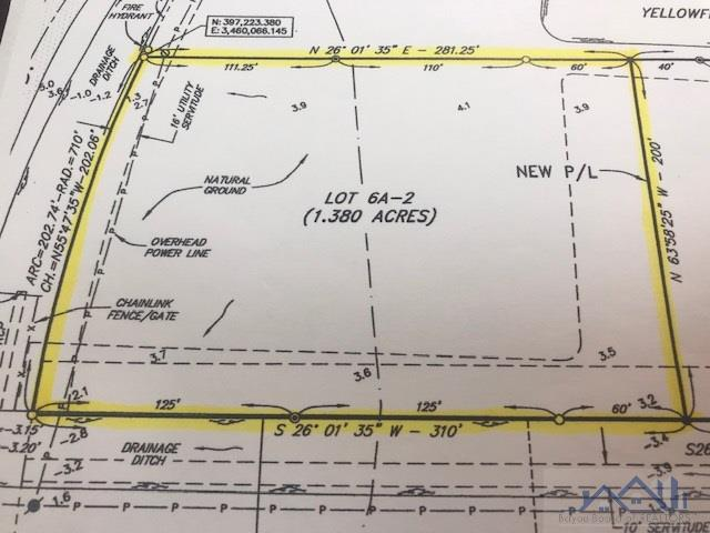 Newly subdivided lot with approximately 1.4 acres and has 200' of frontage on Valhi by a depth of approx. 300'. Only minutes away from Hwy 90 with easy access to New Orleans, Lafayette, Baton Rouge and Port Fourchon. Zoned as Industrial with plenty of opportunities.