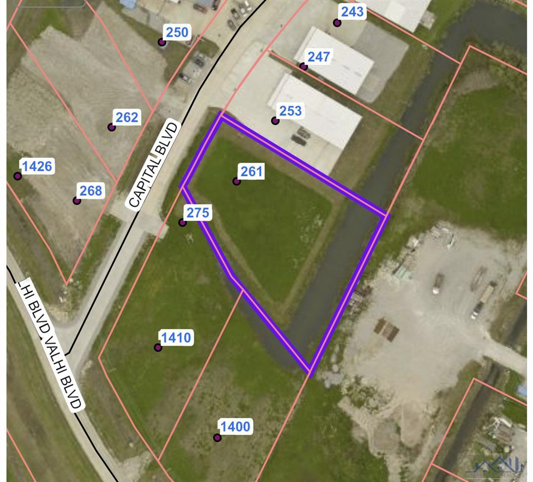 Prime property in Industrial/Commercial Zone.  Owner willing to do a build to suit.  Call agent for additional information.