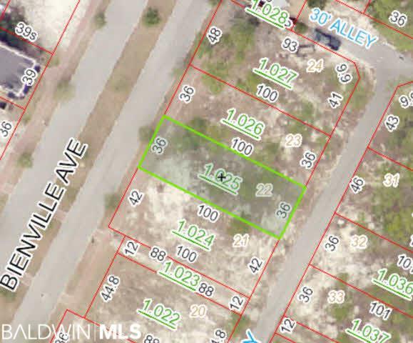 0 Bienville Avenue, Gulf Shores, AL 36542