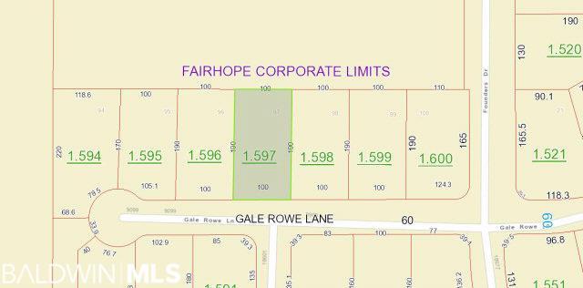 0 Gale Rowe Lane, Fairhope, AL 36532