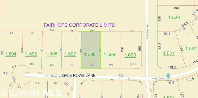 0 Gale Rowe Lane, Fairhope, AL, 36532