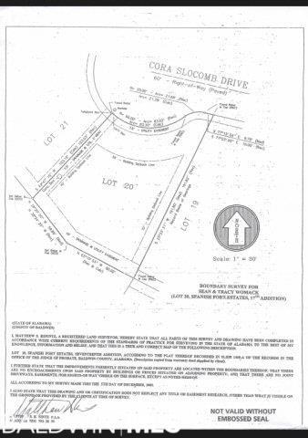 0 Cora Slocomb Drive, Spanish Fort, AL, 36527