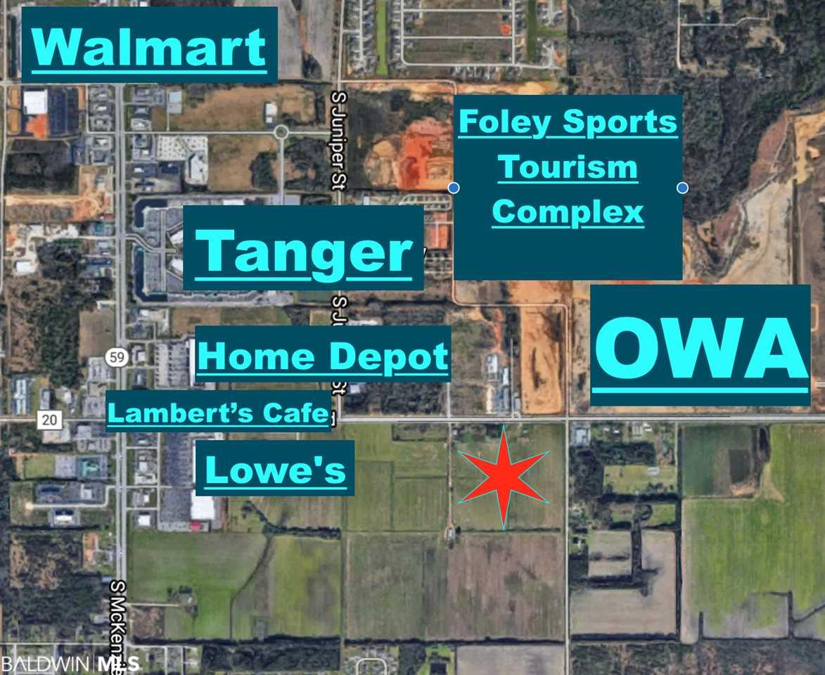 20750 Lot 2 Miflin Rd, Foley, AL 36535