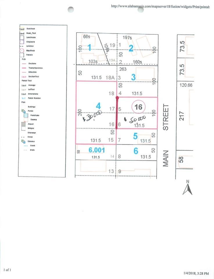 300 Block N Trammell Street, Atmore, AL 36502