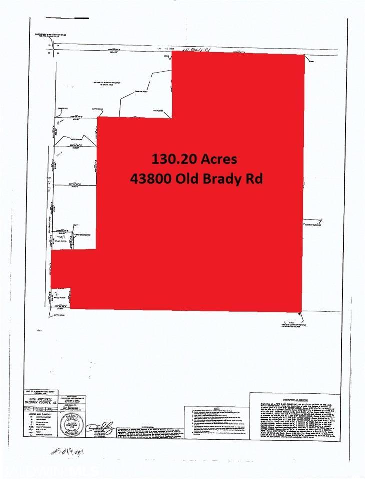 43800 Old Brady Rd, Bay Minette, AL 36507