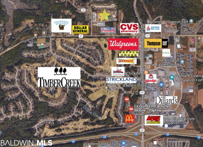 Lot 2 Stagecoach Commercial Park Circle, Spanish Fort, AL 36527