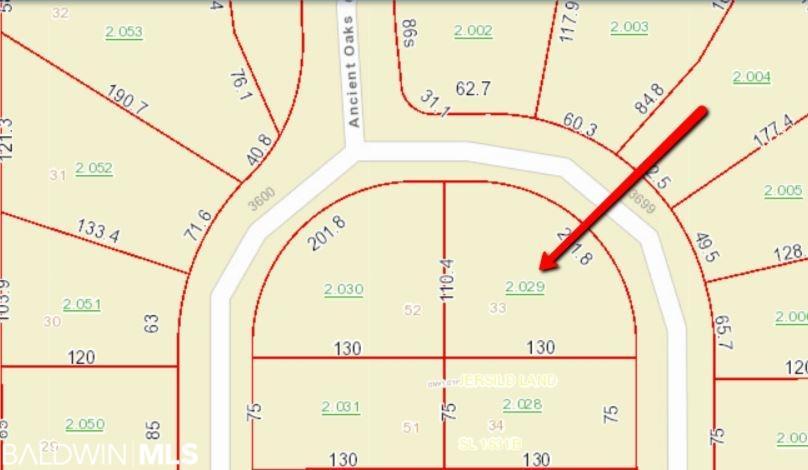 Lot 33 Ancient Oaks Circle, Gulf Shores, AL 36542