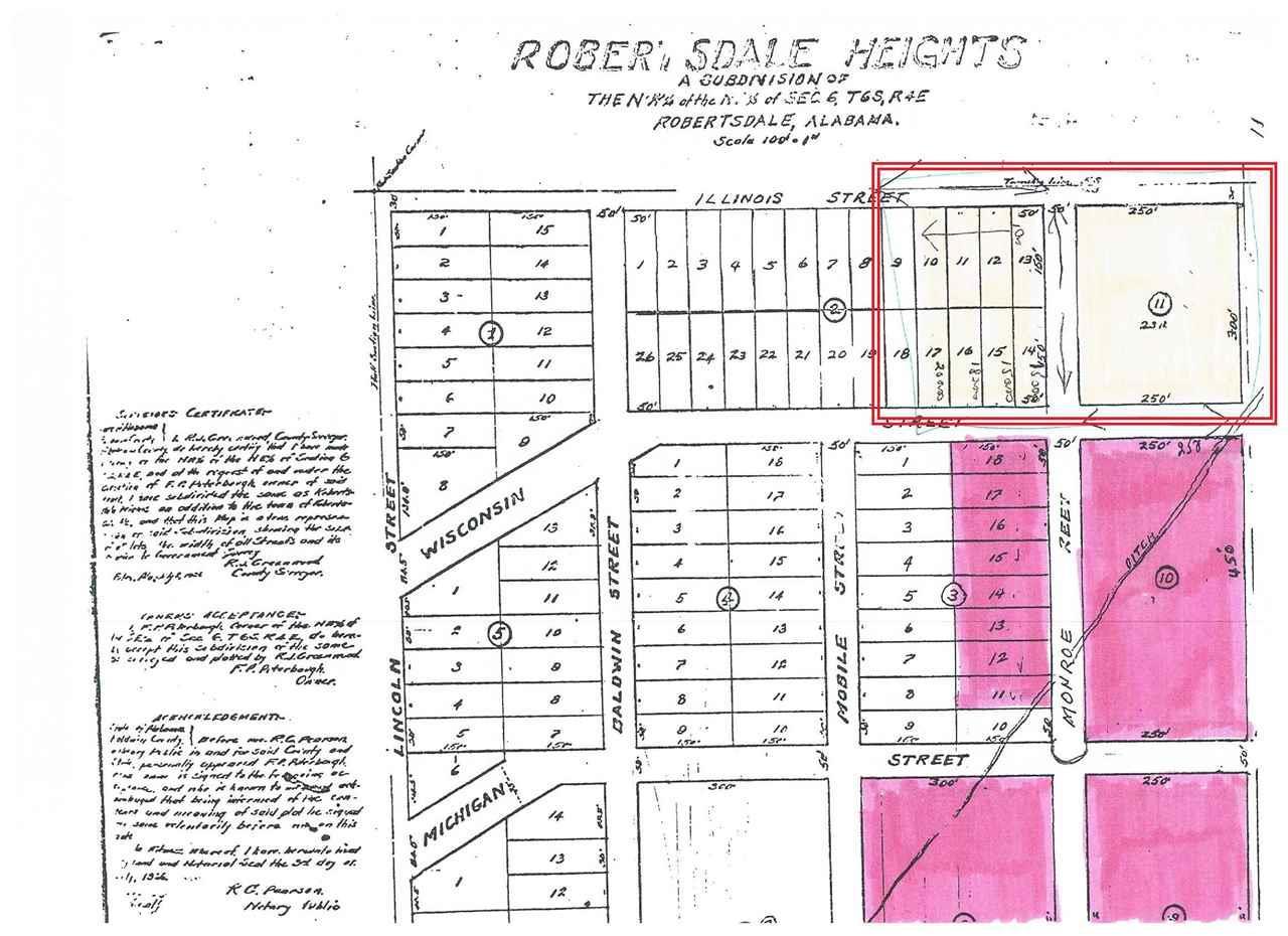 0 Monroe Street, Robertsdale, AL 36567