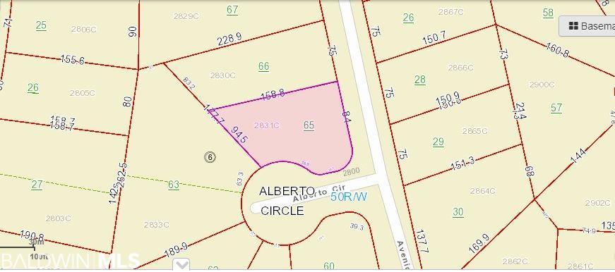 0 Alberto Circle, Lillian, AL 36549
