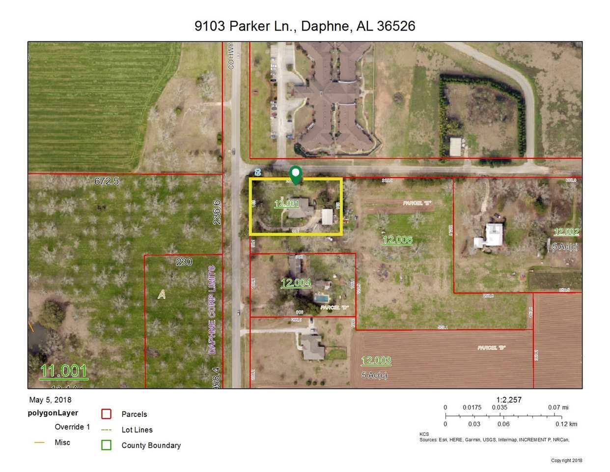 9301 Parker Lane, Daphne, AL 36526