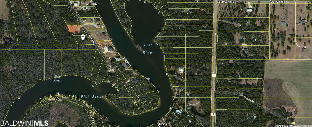 1.07 wooded acres near Fish River in Fairhope